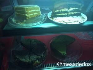 Nevera de tartas caseras