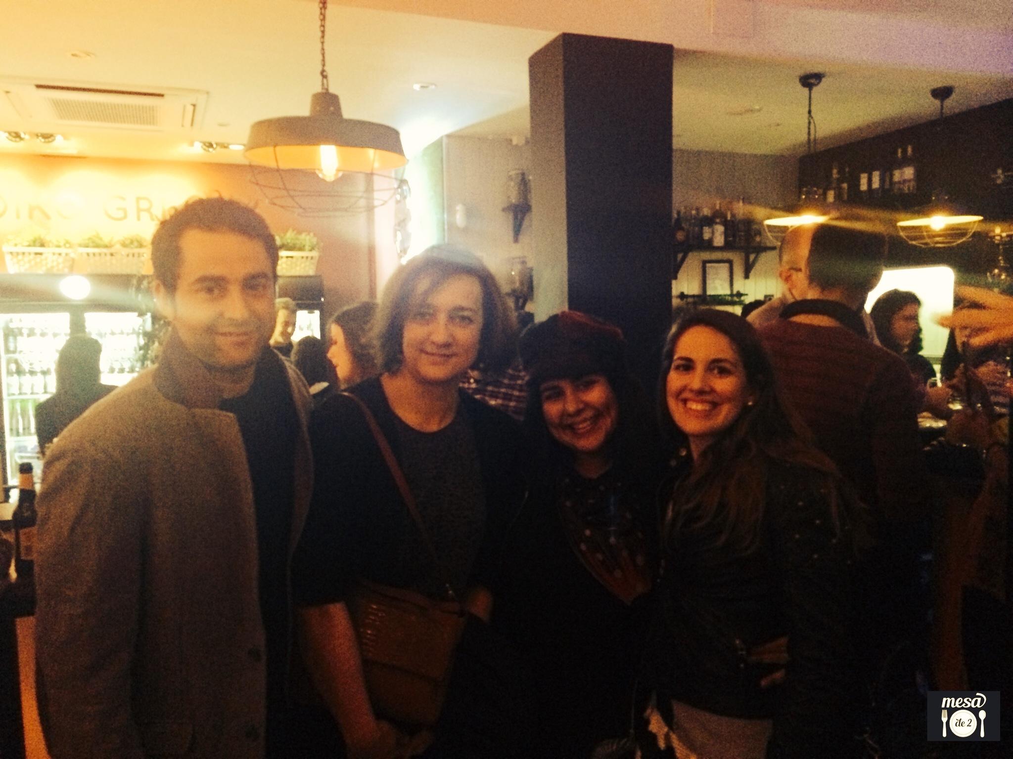 Patsy (Madrid Seduce), Eva (Gastro Activity) y María e Iván (Mesade2)