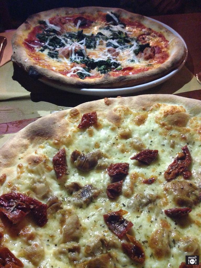 Las fantásticas pizzas de Es Verge