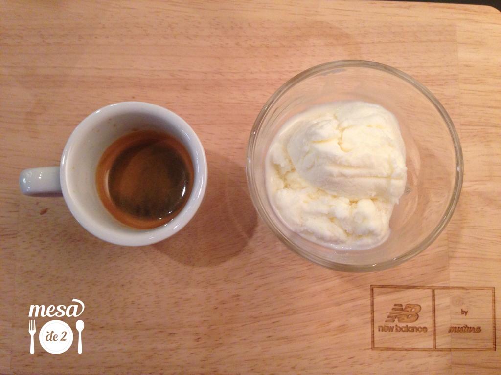 Affogato: café con helado de New Balance by Mistura