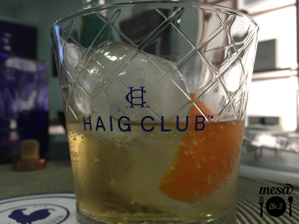 Haig Club Ginger & Twist, Refrescante y delicioso cóctel.