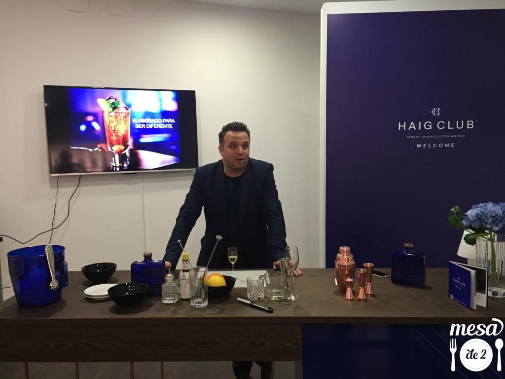 Ramón Parra Esteban, Haig Club Brand Ambassador