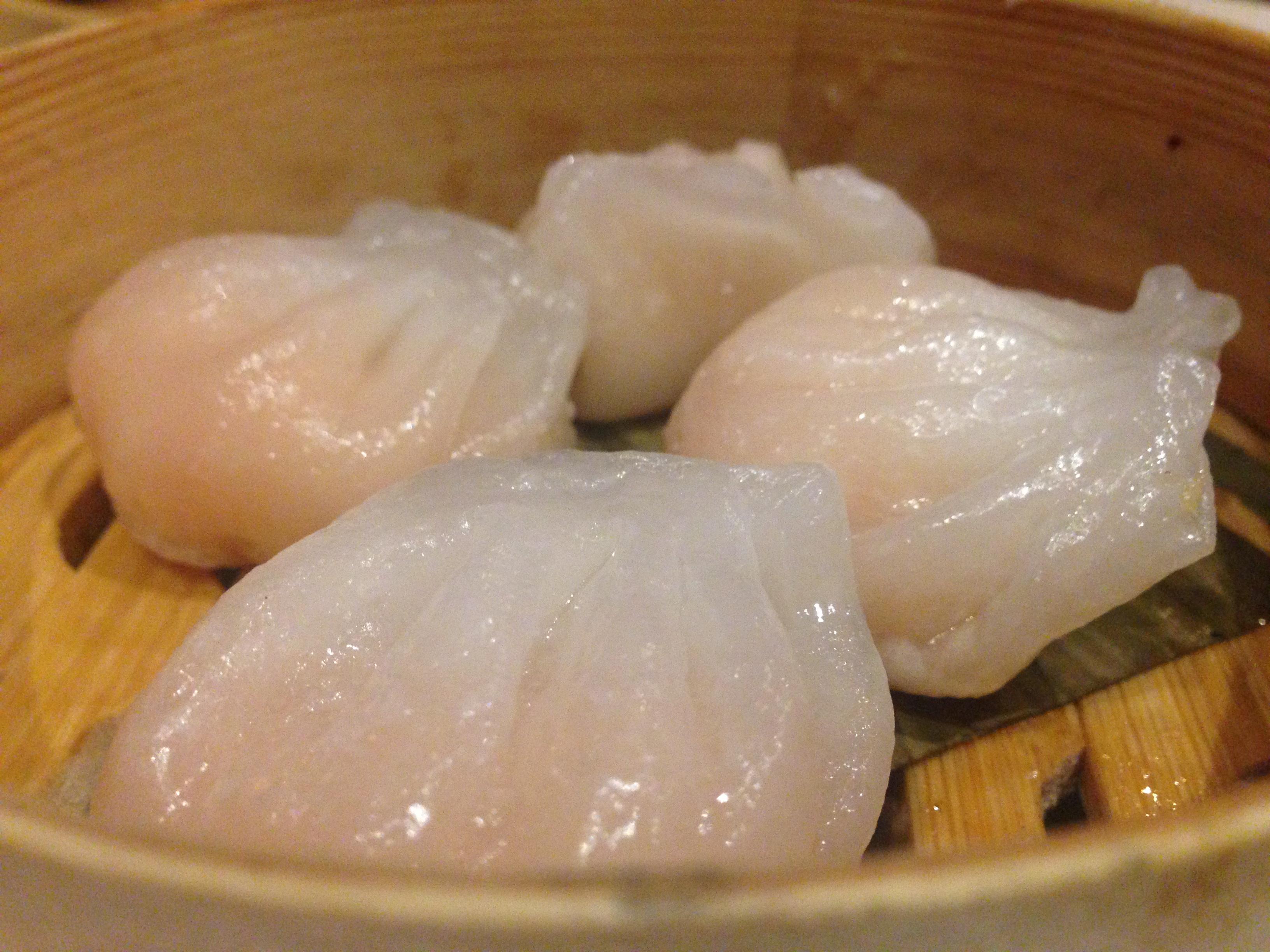 Dim Sum del resturante Chian Té (China Taste)