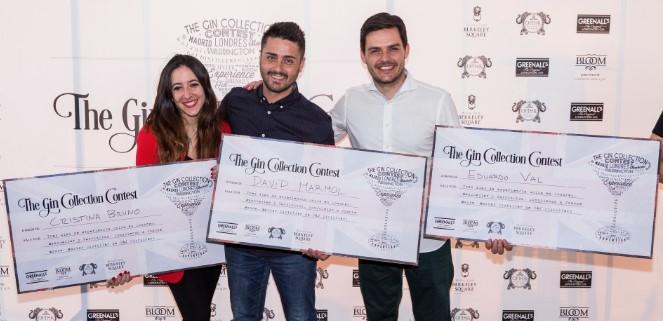 David Mármol, Cristina Bruno y Eduardo Val