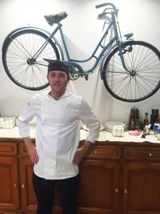 El Chef Eduardo Troya