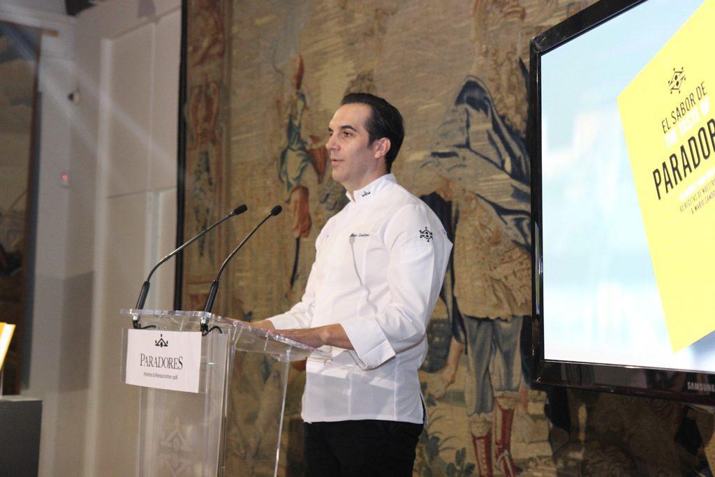 El chef Mario Sandoval El Sabor de Paradores