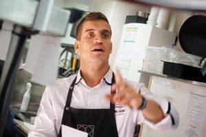 El chef Miguel Cobo
