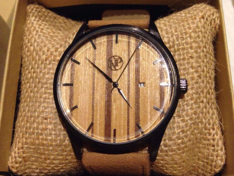 Reloj Bambú Nación Pirata