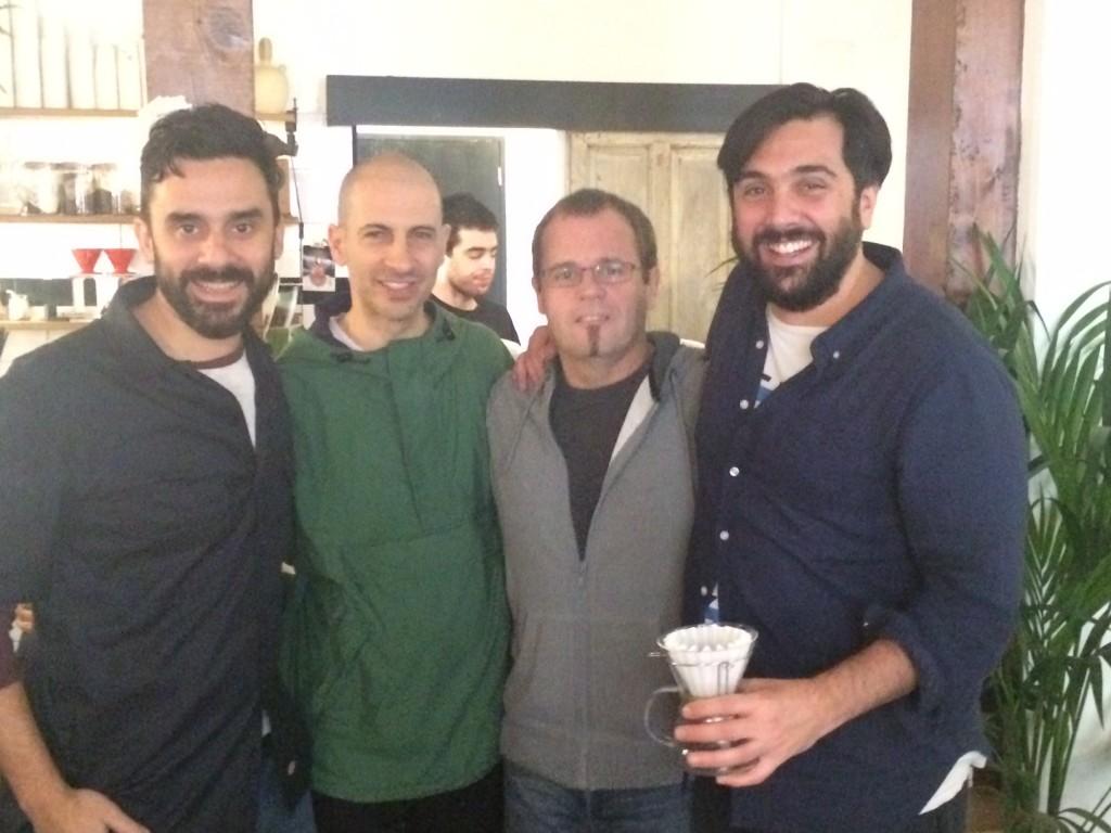 Estanis Carenzo, Leonardo Azulay, Pablo Giudice y Santi Rigioni