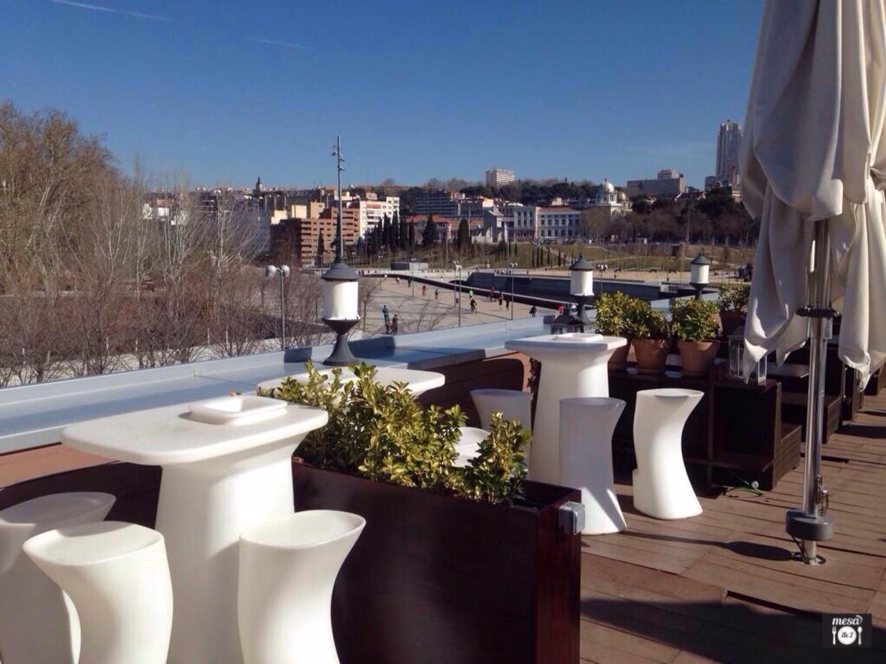 Terraza del Cafe del Río Madrid