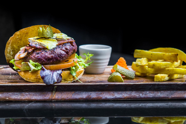 Royal burger Black Angus Balmoral