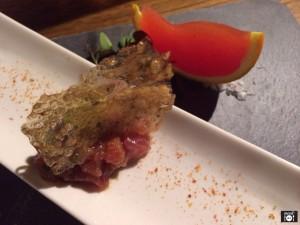 Tartar de Atún y Bloody Mary
