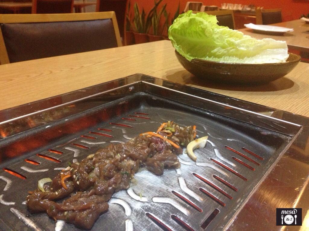 Bulgoki en barbacoa coreana