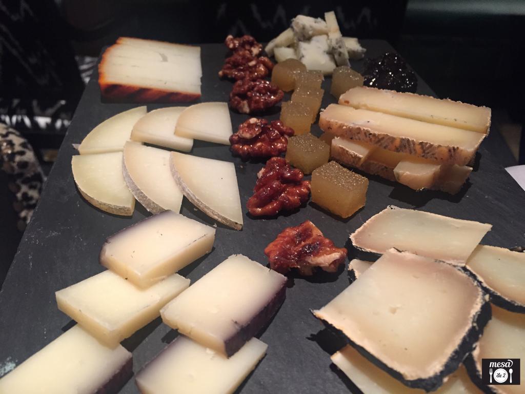 Selección de quesos artesanales