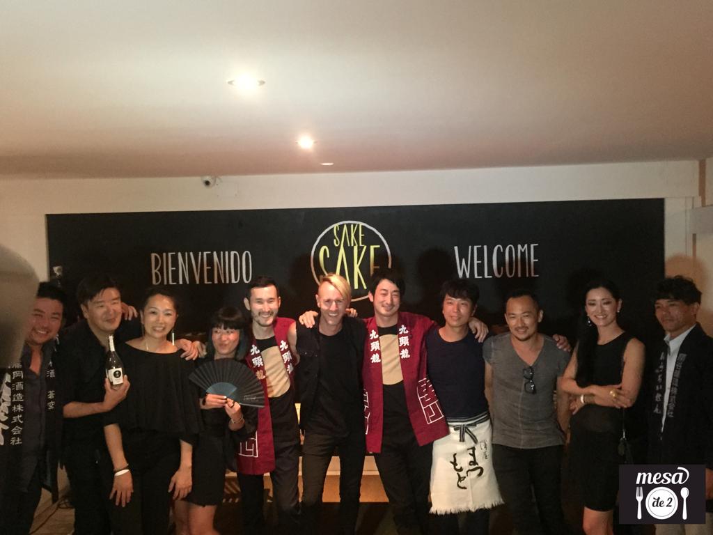 Richie Hawtin, Dj Hito y los productores de sake