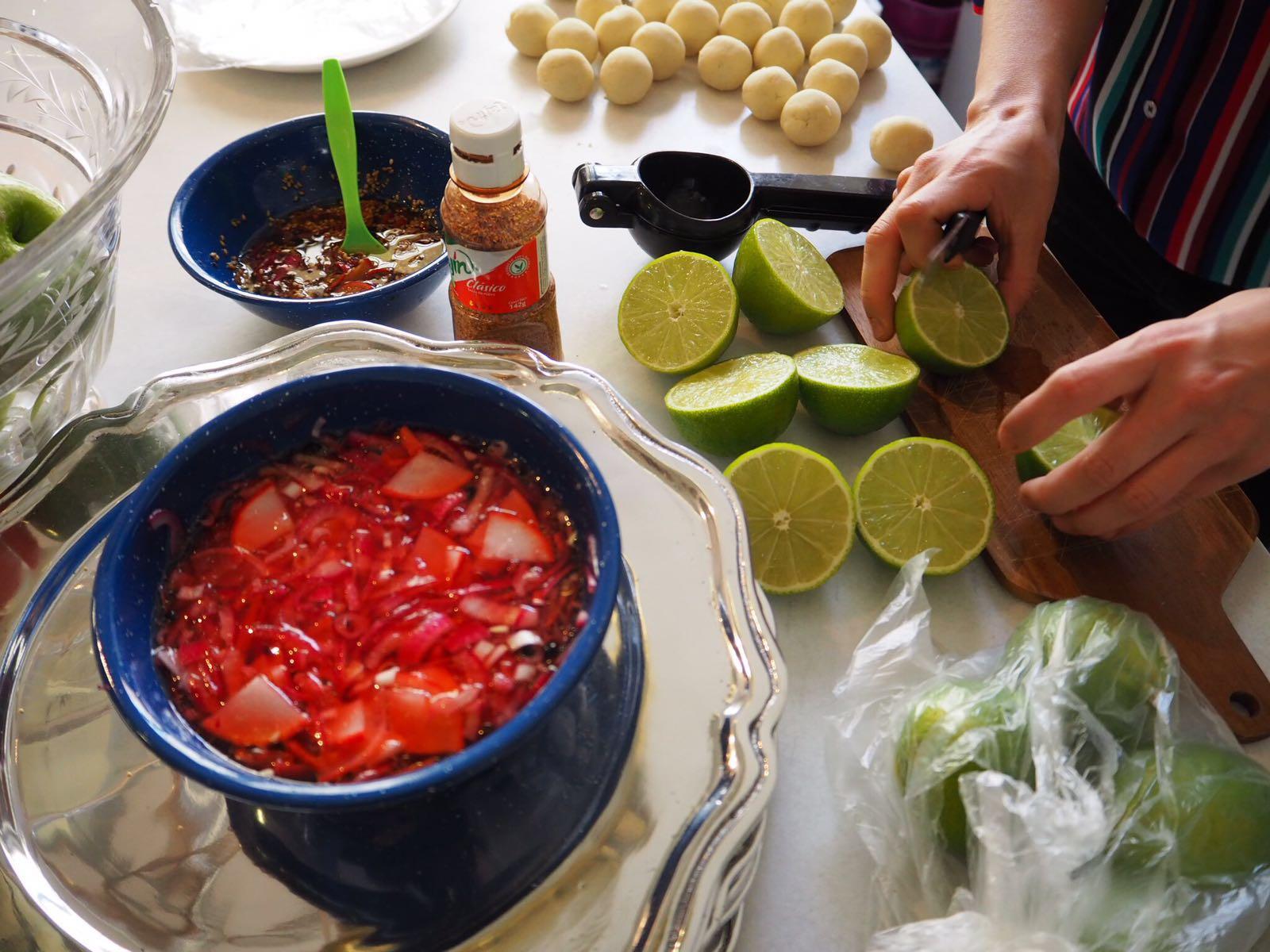 Takering catering mejicano