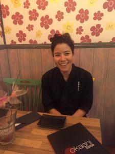La chef Tamara Ishihara